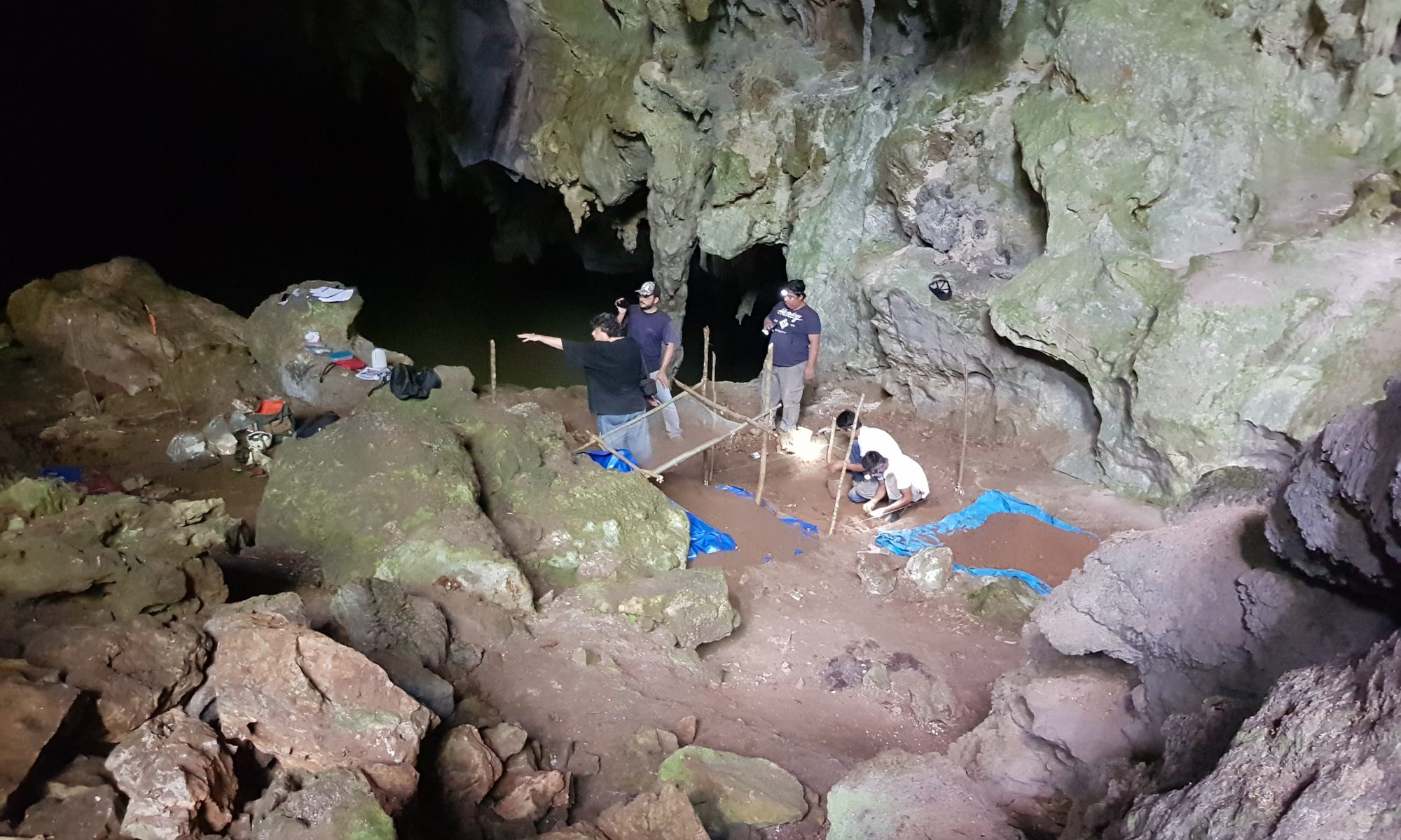 Cave Excavation and the Popol Vuh